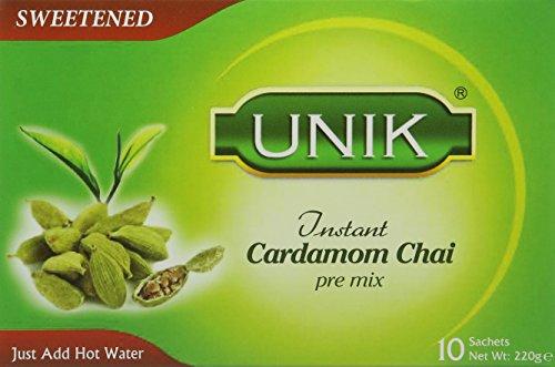 Unik Cardamom Tea Sweetened 220 g (Pack of 5)
