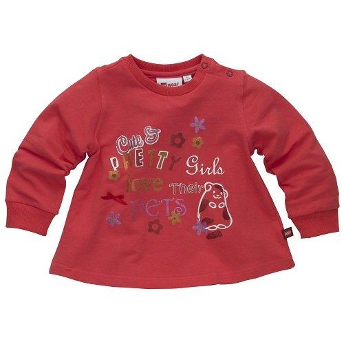 LEGO Wear Stella 101 - T-SHIRT L/ S 12257 Mädchen Shirts/ Langarmshirts, Gr. 98, Rot (RED 322) (Mädchen Stella Langarmshirts)