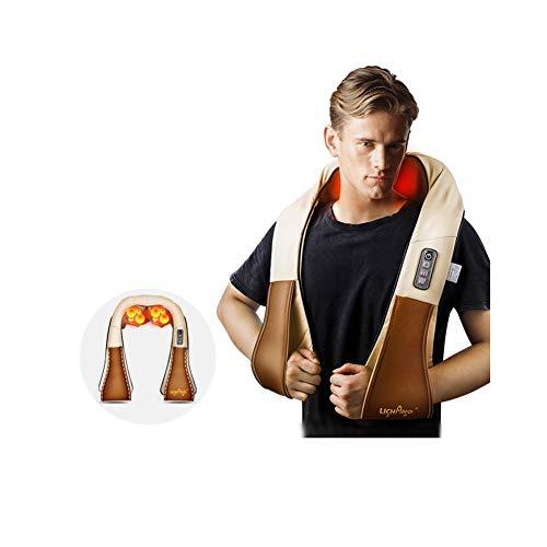 yyqamy Shiatsu Nackenmassagegerät Mit Wärmefunktion Verspannungen Schulter Nacken Massagegürtel Massagegerät Rücken Massagegeräte Rücken Schulter Nacken Für Haus Büro Auto