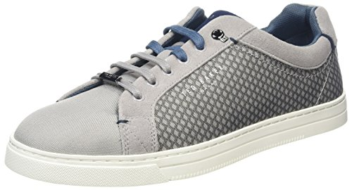 Ted Baker Men Sarpio Sneakers, Grey (Grey), 12 Uk ( 46 Eu)