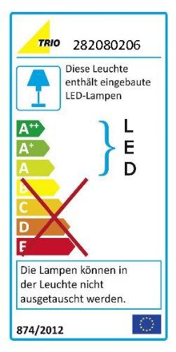 Trio-282080206-Lampada-a-LED-da-Specchio-con-2-Luci-per-il-Bagno-Cromo