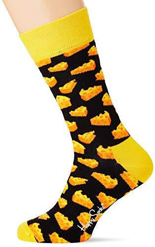 Happy Socks Damen Cheese Socken, Mehrfarbig (Multicolour), 4/7/2018 (Herstellergröße: 36-40) (Frauen Für 4. Juli-outfits)
