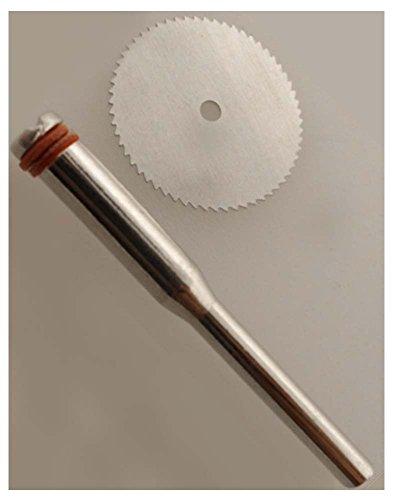 toolusa 3/10,2 cm 72 dents Lame de scie de coupe en acier inoxydable sur 3/81,3 cm Tige : tj04–04713-z03 : (Lot de 2 Pièces)