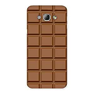 Classic Chocolate Back Case Cover for Galaxy A8