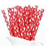 Party Hunterz Straws Christmas Tree - Multicolor