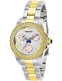 Invicta 28474 Angel Reloj para Mujer acero inoxidable Cuarzo Esfera plata 5bb1621d389c