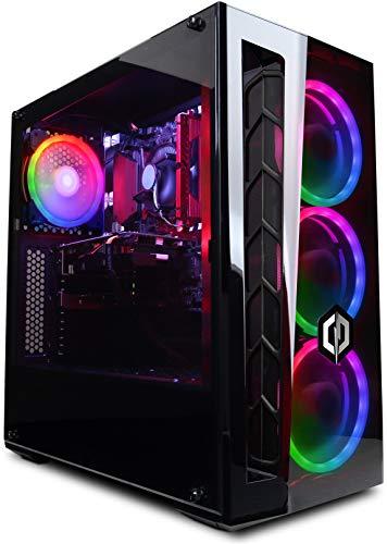 CyberpowerPC Wyvern Gaming PC - Intel Core i5-9400F, Nvidia GTX 1060 6GB,  8GB RAM, 240GB SSD, 1TB HDD, 400W 80+ PSU, Wifi, Windows 10, MB520