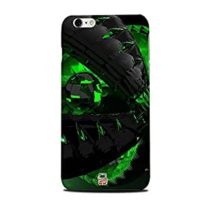 AllDeviceSkin Green effect High Quality Print Hard Back Case Cover for Apple iPhone 6plus (Design-3d-30)