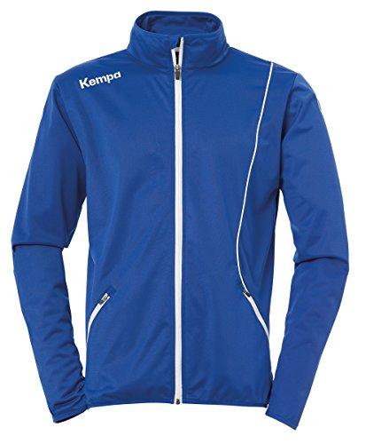 Kempa Herren Curve Classic Jacke, Royal/Weiß, XL