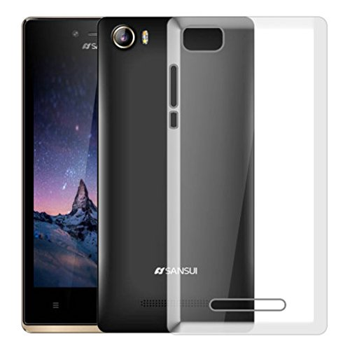 Hello Zone Exclusive Soft Transparent Crystal Clear Back Cover Back Case Cover For Sansui Horizon 1