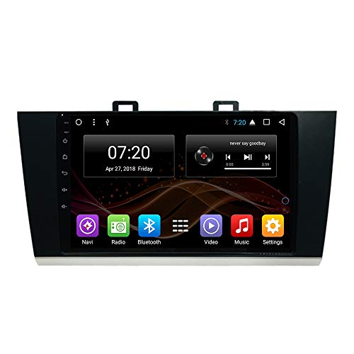 Android 8.1 Car DVD Radio GPS Navigation for Subaru Outback Legacy 2015-2018 Stereo Audio Navi Video with Bluetooth Calling WiFi (Android 8.1 4+64G for Subaru Outback Legacy) (Subaru Navigation System)