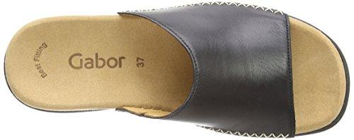 Gabor Shoes - Gabor, Zoccoli da donna Nero (Black  (Black Leather))