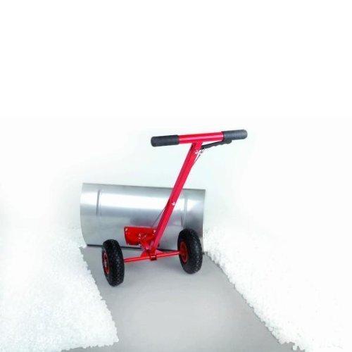 Original Schnee-Fuchs mit auswechselbarer Schürfleiste, schwenkbar - Schneeschieber