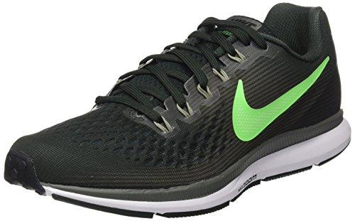 Nike Air Zoom Pegasus 34, Scarpe Running Uomo Verde (Vert Nature/turquoise  Atomique