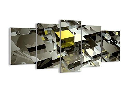 Cuadro sobre vidrio - Cuadro de cristal - 5 piezas - Ancho: 160cm, Altura: 85cm - Foto número 2169 - listo para colgar - Pinturas en vidrio - impresiones sobre vidrio - Cuadro en vidrio - GEA160x85-2169