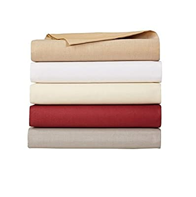 AmazonBasics 200-Thread-Count Fitted Sheets (Multiple Sizes/Colours) - inexpensive UK light store.