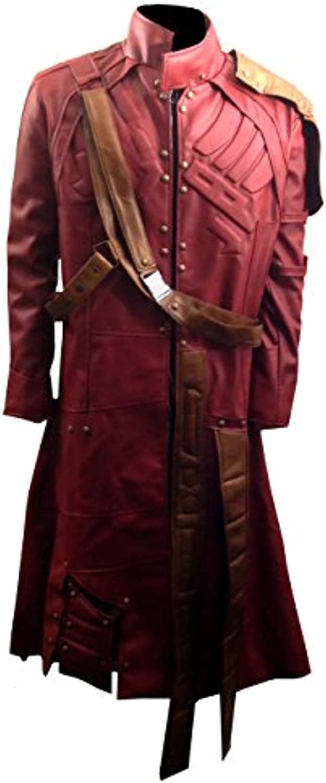 Clara Leather Jackets Star Lord Chris Peter Custode Pelle di Galaxy Pelle Custode Sintetica Trench Giacca 6da55f