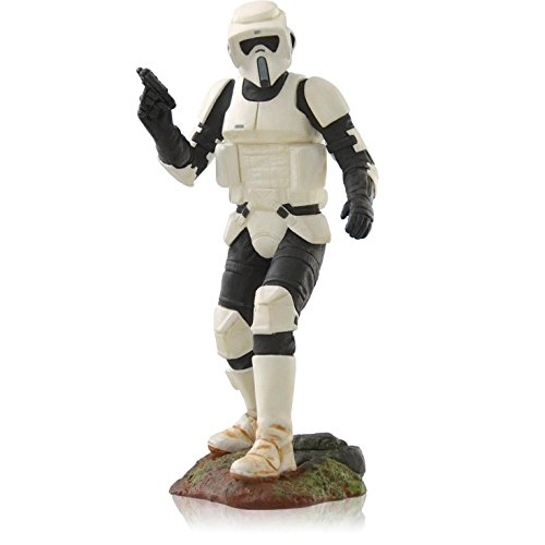 f the Jedi - Scout Trooper - Christmas Tree Ornament - Hallmark (2014) ()