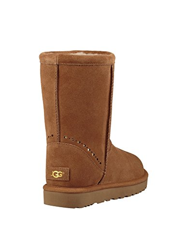 Ugg Women's Classic Short Sunshine Women's Boots In Blue Synthetic Beige