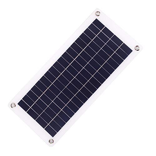 Hanbaili 18V Solar Energy Lamp Panel,20W tragbare Solarzelle Panel für Solar-Ladegerät DIY