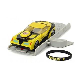 Transformers - Bumblebee con Lanzador, 11 cm (Simba Dickie 3112001)