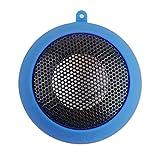 QFVUK Mini Protable Musik-Player Stereo-Mini-Lautsprecher 3,5-mm-Klinke Hamburg-Typ Teleskop-Plug-In-Audio-Lautsprecher, Blau