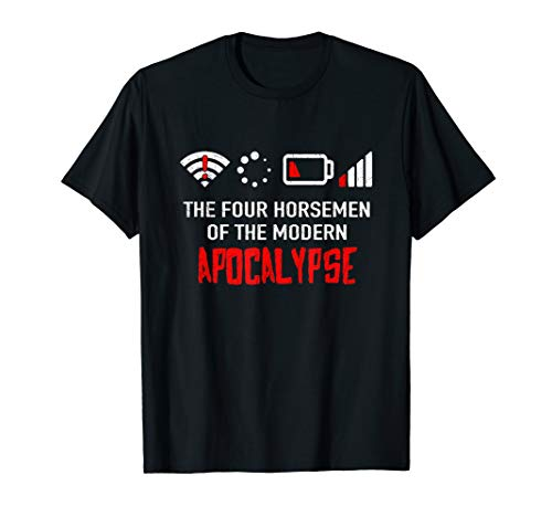 Die Reiter der modernen Apokalypse | Nerd Geek T-Shirt