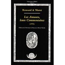 Les Amours, leurs commentaires : texte de 1553