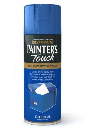 rust-oleum-painters-touch-multi-purpose-aerosol-spray-paint-400ml-deep-blue-gloss-1-pack