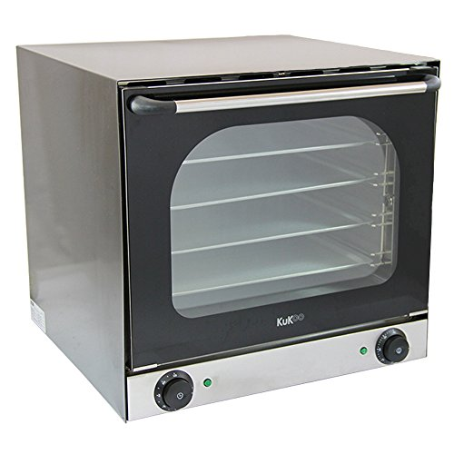 Electric Convection Oven/Twin Fan-Assisted 4 Trays Aluminium/Commercial Baking