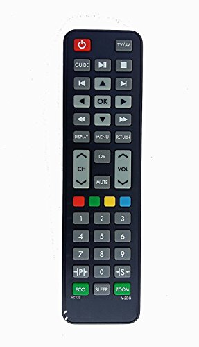 LipiWorld LCD LED TV Universal Remote Control Compatible For VIDEOCON LCD LED TV  available at amazon for Rs.299