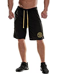 Golds Gym Premium Mesh Short | Schwarz
