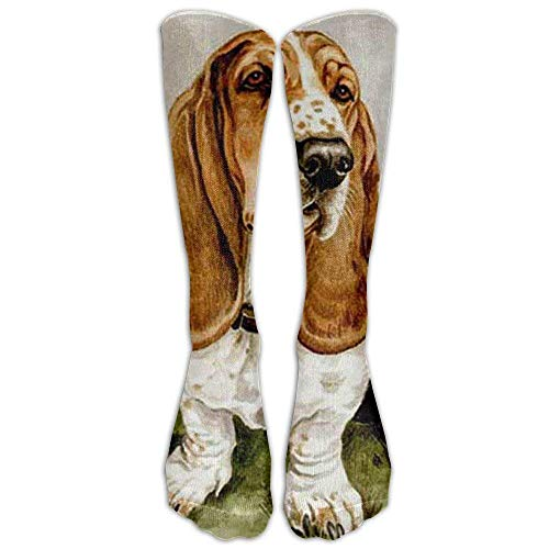 Knee High Graduated Compression Socks for Women and Men - Best Medical, Nursing, Travel & Flight Socks - Running & Fitness ()