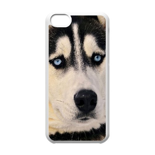 Diy Beautiful Lovely Little Dog Custom Cover Phone Case for iphone 5s White Shell Phone [Pattern-4] l002