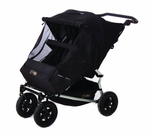 Mountain Buggy Evolution Duet Flint inkl. Regenschutz - 14