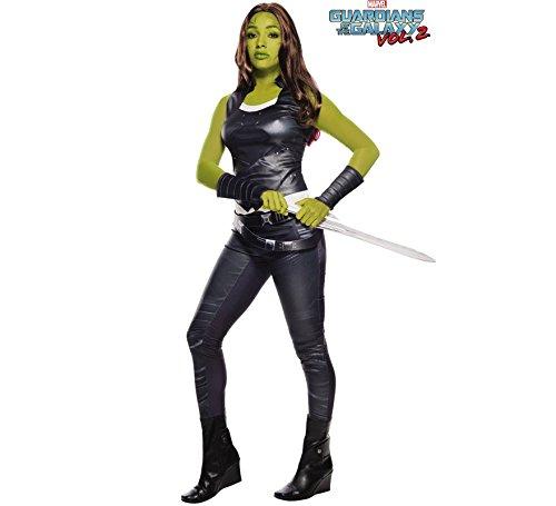 Kostüm Für Gamora Erwachsene - Guardians of the Galaxy Gamora-Damenkostüm schwarz-grün M