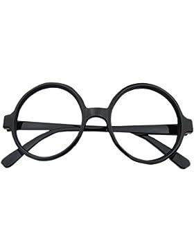 KINDOYO Niños Retro Vidrios de la Vendimia vidrios de la Nerd Unisexo Redondo Monturas de gafas