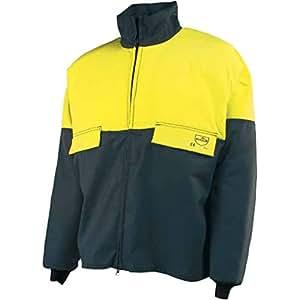 Grün Gelb Chainsaw Jacke Klasse 1Typ A Schutz 106,7cm Brust, groß