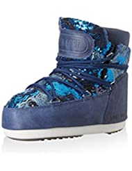 Tecnica Bota moon boot buzz pailettes azul