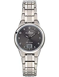 9284521e5b Dugena Damen Funk-Armbanduhr, Allergikerfreundliches Titan, Gehärtetes  Mineralglas, Gent…