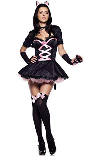 arz Rosa Catwoman Kostüm Spiel Uniform Sexy Katze Mädchen Uniform Set Halloween Cosplay Kostüm,Bild,Einheitsgröße ()