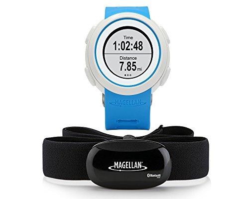 Magellan Echo - Reloj deportivo (incluye banda torácica) color azul