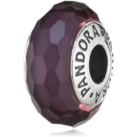 Pandora 791071 - Abalorio de plata de ley con cristal