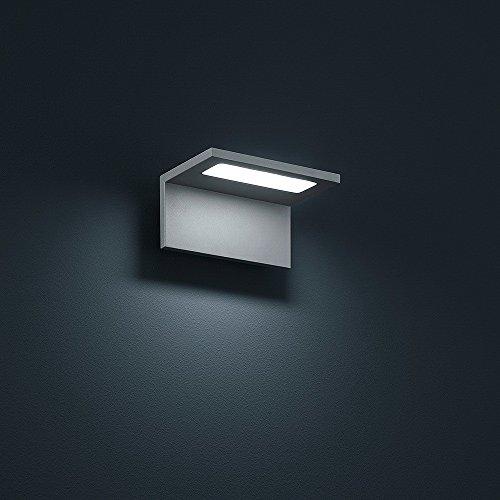 Helestra LED Downlight Drift Schwarzmatt IP54 | LEDs fest verbaut 6W 450lm warmweiß | A18410.46