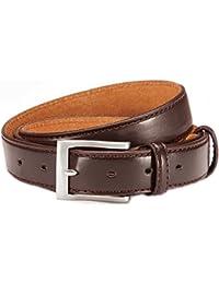 Élégant PU ceinture de ceinture en cuir Combinaison homme 3cm Largeur Traitement de qualité réglable individuellement