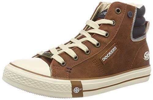 Dockers by Gerli Damen 43PT302 Hohe Sneaker, (Braun 300), 40 EU