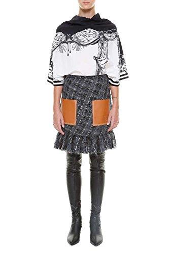 loewe-womens-d2269200fa2100-white-black-silk-blouse