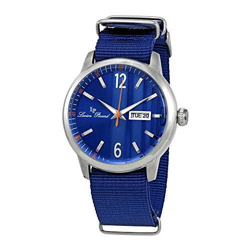 Lucien Piccard Milanese Blue Dial Mens Watch 40027-03-BLNS