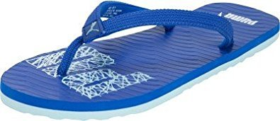 Puma Men's Miami Ng Dp Dazzling Blue, Coolblue and White Flip Flops Thong Sandals - 9 UK/India (43 EU)  available at amazon for Rs.240