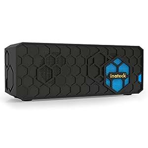Inateck Tragbarer Bluetooth Stereo Lautsprecher, Wireless Speaker für allen Bluetooth-fähigen Geräten wie Smartphone, Tablet und Laptops, 2× 3 Watt RMS, 88dB